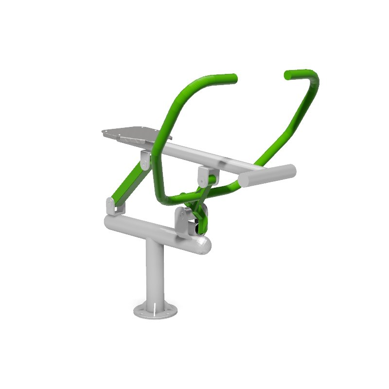 Rower Outdoor Gym Fitness Station