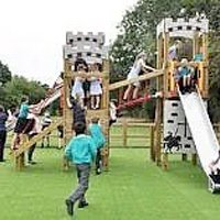 Making outdoor fitness fun for children