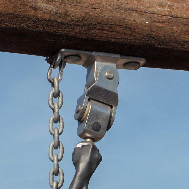 Birds Nest Bolt On Style Universal Swing Hanger With