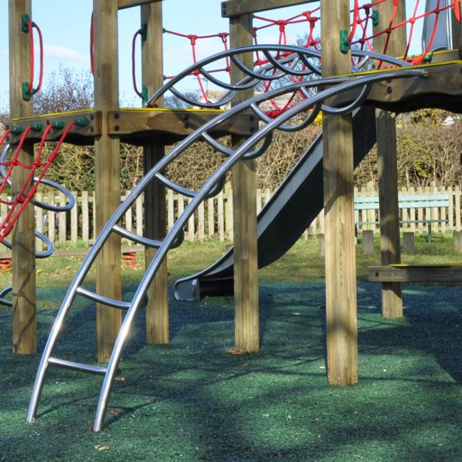 Stainless Steel Ladders For Play Towers And Platforms Online Playgrounds