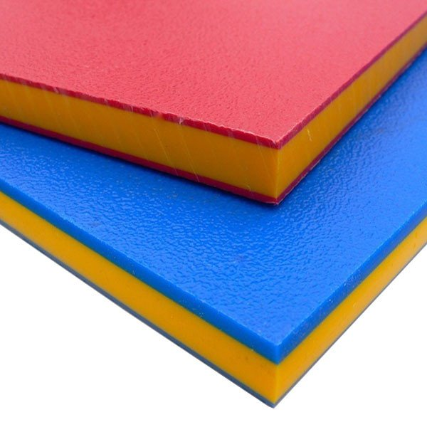 HDPE (High Density Polyethylene) Playground Repair Sheets In Various Bright  Colours