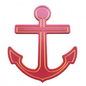 red-ships-anchor-for-childrens-playground-boat.