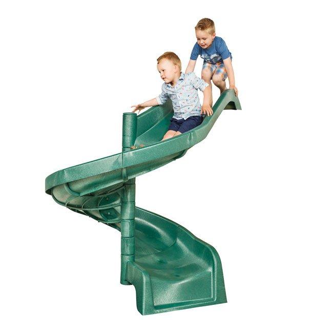 1 5m High Children S Playground Garden Spiral Slide In