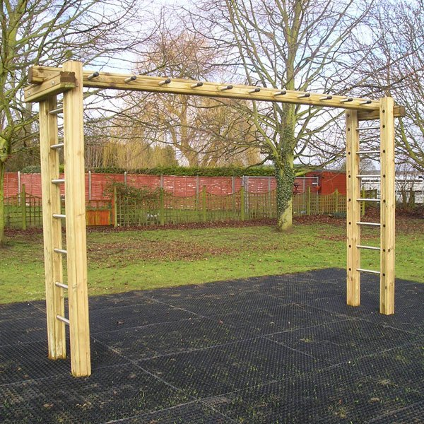 2 4m Horizontal Ladder Outdoor Fitness Station Online