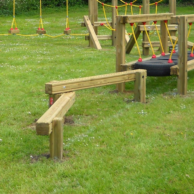 Pair Of Balance Beams Tt1 Trim Trails Online Playgrounds