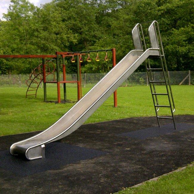 Free Standing Stainless Steel Playground Slide Online