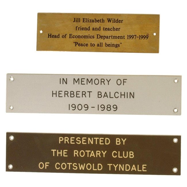 Memorial Bench Engraved Plaque Park Benches Online