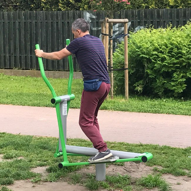 Cross Trainer Outdoor Gym Fitness Station Online Playgrounds