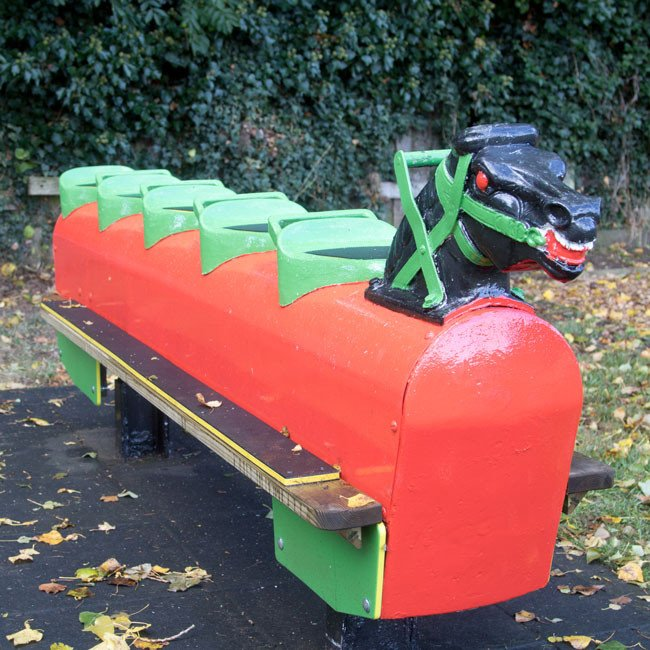 Wicksteed Replacement Rocking Horse Seat S7 Seesaws