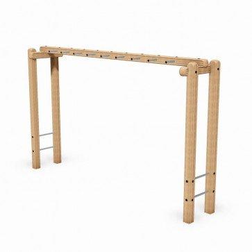 horizontal-ladder-wooden-adult-fitness-station