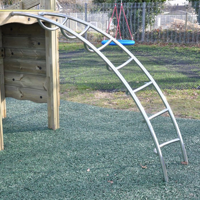 Stainless Steel Ladders For Play Towers And Platforms