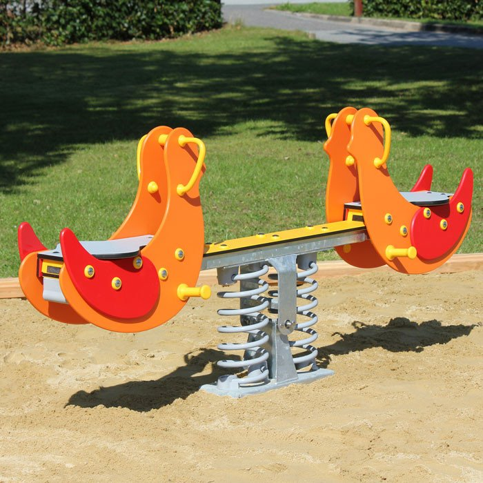 Parrot Sit On Spring Seesaw Mobile Spring Mobiles