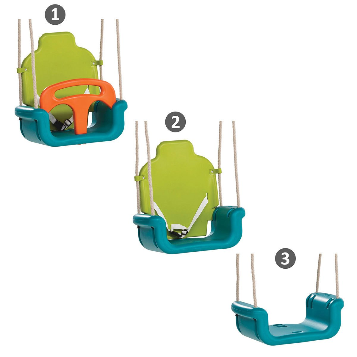 Growable Baby To Toddler Swing Seat Complete With