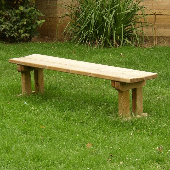 Fabulous Natural Wooden Park Seat Manufactured From Hand Selected Machined And Pressure Treated Softwood Spiritservingveterans Wood Chair Design Ideas Spiritservingveteransorg
