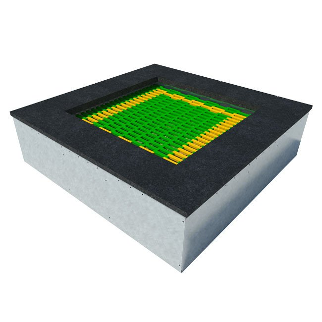 Small Outdoor Playground Bouncing Facility Trampoline