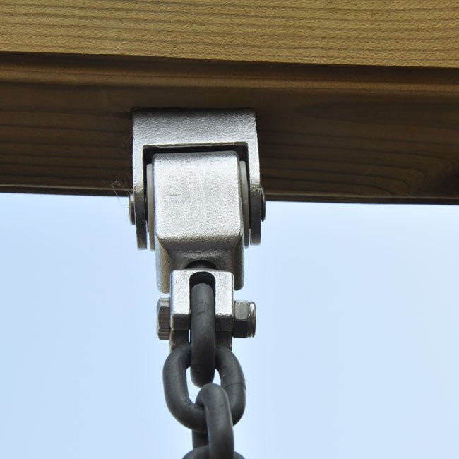 Swing hanger with m connecting bolt seal bearing