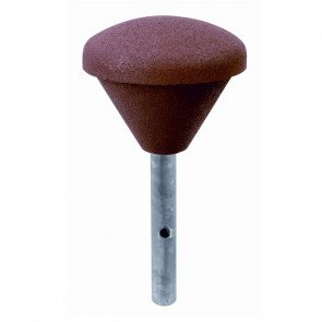 rubber-seesaw-buffer-with-steel-post-s1