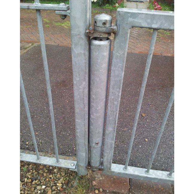 A fully cased Noreg Gate Hinge