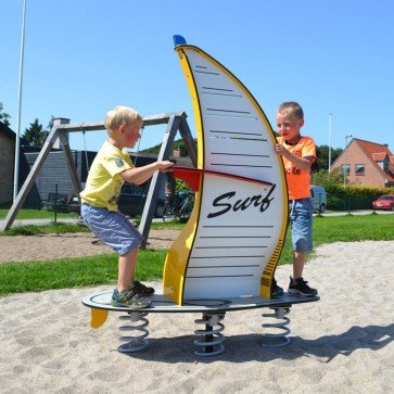 Who should repair your playground equipment?
