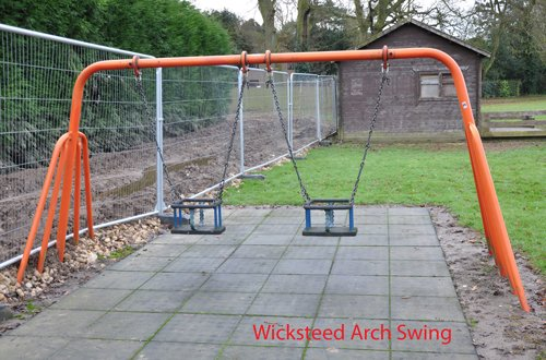 Wicksteed Arched Swing