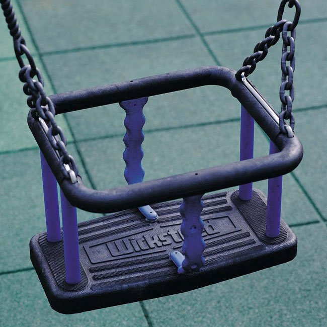 old style wicksteed cradle seat